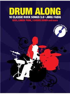 Drum Along IX - 10 Classic Rock Songs 3.0 Books and CDs | Drums