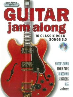 Guitar Jam Along: 10 Classic Rock Songs 3.0 (Book/CD) Books | Guitar/Guitar Tab