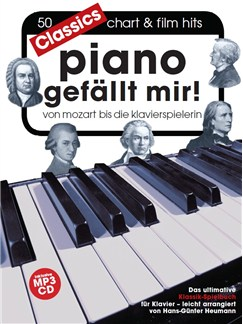 Hans-Günter Heumann: Piano Gefällt Mir! Classics (Book/MP3 CD) Books and CDs | Piano