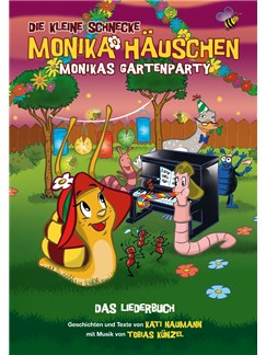 Die Kleine Schnecke Monika Häuschen: Monikas Gartenparty - Das Liederbuch (Book/CD) Books and CDs | Piano, Vocal & Guitar