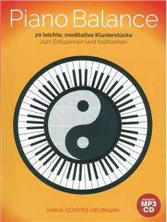 Hans-Günter Heumann: Piano Balance - 20 Easy And Meditative Songs (Book/CD) Books and CDs | Piano