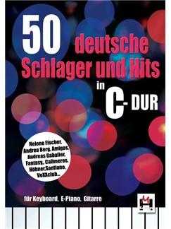 50 Deutsche Schlager Und Hits In C-Dur Buch | Klavier & Gesang