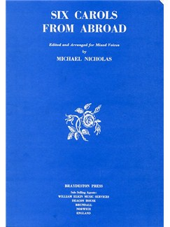 Six Carols From Abroad Books | SATB