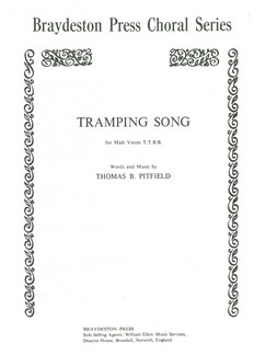 Thomas Baron Pitfield: Tramping Song TTBB Books | TTBB