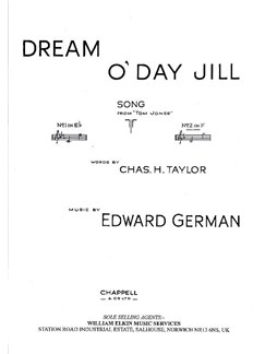 Edward German: Dream O' Day Jill (In F) Books | High Voice, Piano Accompaniment