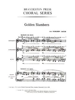 Golden Slumbers (SSA) Books | SSA