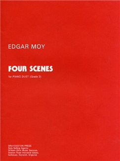 Edgar Moy: Four Scenes Books | Piano Duet