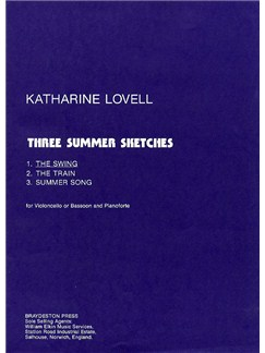 Katharine Lovell: The Swing (Three Summer Sketches) Books | Cello or Bassoon, Piano Accompaniment