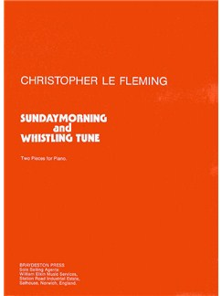 Christopher Le Fleming: Sunday Morning/Whistling Tune Books | Piano