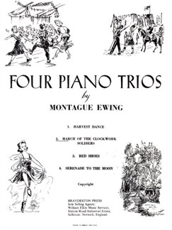 Monatgue Ewing: March Of The Clockwork Soldiers Books | Piano