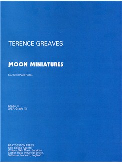 Terence Greaves: Moon Miniatures Libro | Piano