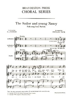The Sailor And Young Nancy (Unison) Books | Unison Voice, Piano Accompaniment