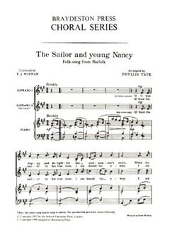 The Sailor And Young Nancy (Unison) Libro | Voz al Unísono, Acompañamiento de Piano
