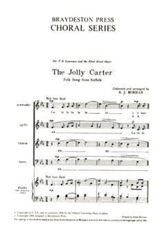 The Jolly Carter Books | SATB
