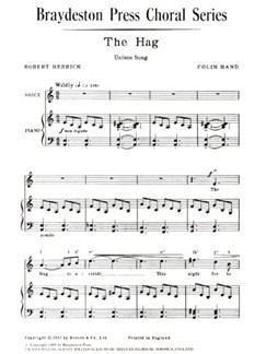 Colin Hand: The Hag Books | Unison Voice, Piano Accompaniment