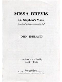 John Ireland: St. Stephen's Mass Libro | SATB