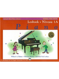 Alfred's Basic Piano Library: Piano Lesboek - Niveau 1A (Book/CD) (Dutch Language) Books and CDs | Piano