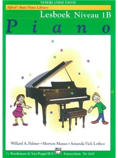 Alfred's Basic Piano Library: Lesboek Niveau 1B (Dutch Edition) Books | Piano