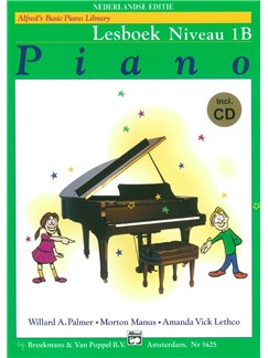 Alfred's Basic Piano Library: Piano Lesboek - Niveau 1B (Book/CD) (Dutch Language) Books and CDs | Piano