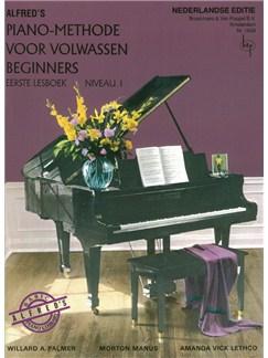 Alfred's Piano-Methode Voor Volwassen Beginners: Eerste Lesboek - Niveau 1 (Book Only) (Dutch Language) Books | Piano