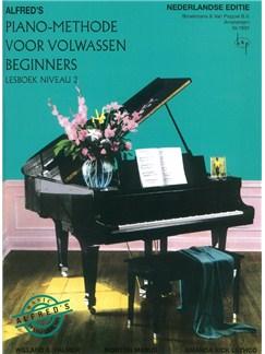 Alfred's Piano-Methode Voor Volwassen Beginners: Lesboek Niveau 2 (Dutch Language) Books | Piano