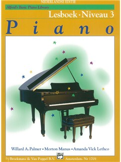 Alfred's Basic Piano Library: Piano Lesboek - Niveau 3 (Dutch Language) Books | Piano