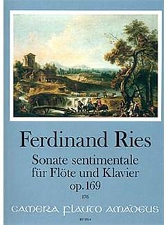 Ferdinand Ries: Sonate Sentimentale Op. 169 Books | Flute, Piano