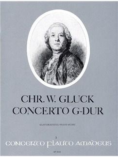 Christoph Willibald Gluck: Concerto In G Major Books | Flute, Piano