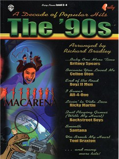 A Decade of Popular Hits From The '90s Books | Piano, Vocal & Guitar