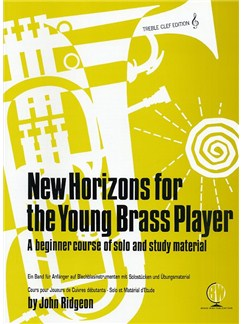 New Horizons For The Young Brass Player (Treble Clef) Books | Brass Instruments