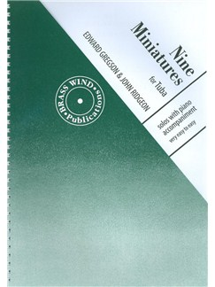 Edward Gregson/John Ridgeon: Nine Miniatures (E Flat Bass/Tuba) Books | Tuba
