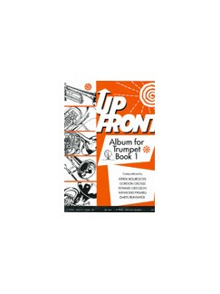 Up Front Album For Trumpet - Book One Books | Trumpet, Piano Accompaniment