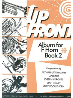 Up Front: Album For Horn In F - Book 2 Books | French Horn