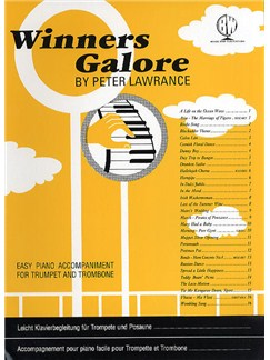 Winners Galore For Trumpet And Trombone (Piano Accompaniment) Books | Piano Accompaniment