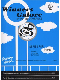 Peter Lawrance: Winners Galore (Treble Brass) Bog | Trompet, Horn, Euphonium
