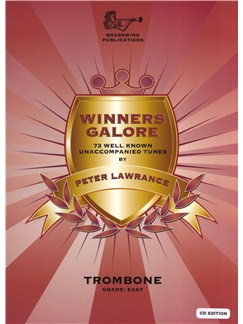 Winners Galore - Bass Clef Trombone (Book/CD) Books and CDs | Trombone