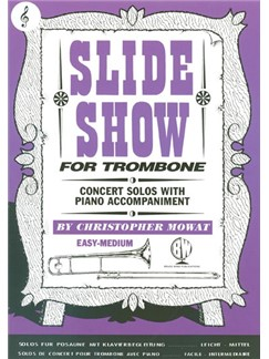 Slide Show For Trombone (Treble Clef) Books | Trombone, Piano Accompaniment