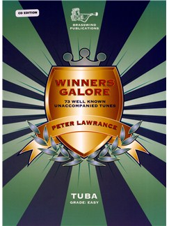 Peter Lawrance: Winners Galore - Tuba (Bass Clef) Books | Tuba