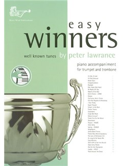 Easy Winners For Trumpet And Trombone (Piano Accompaniment) Libro | Acompañamiento de Piano