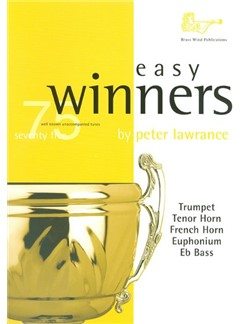 Easy Winners For Treble Brass Instruments Books | Euphonium, French Horn, Trumpet, Trombone