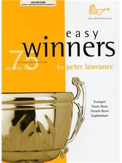 Easy Winners For Treble Brass Instruments (CD Edition) Books and CDs | Euphonium, Trombone, French Horn, Trumpet