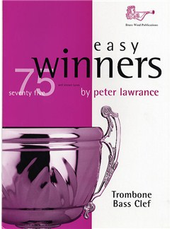 Easy Winners For Trombone (Bass Clef) Books | Trombone