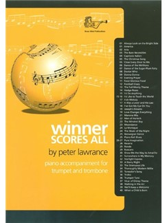 Peter Lawrence: Winner Scores All - Trumpet/Trombone (Piano Accompaniment Only) Books | Piano Accompaniment