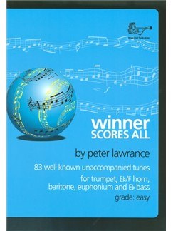 Winner Scores All For Treble Brass Books | Euphonium, French Horn, Baritone, Trumpet, Treble Clef Instruments, Brass Instruments