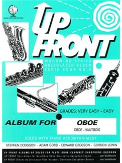 Up Front: Album For Oboe Books | Oboe, Piano Accompaniment