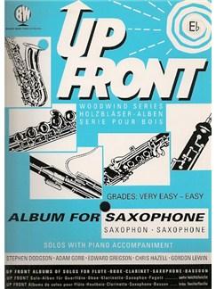 Up Front: Album For E Flat Saxophone Books   Alto Saxophone (or Baritone Saxophone), Piano Accompaniment