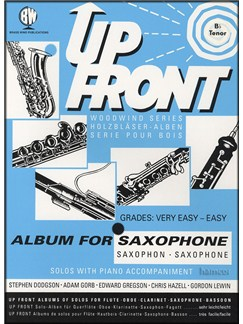 Up Front: Album For B Flat Saxophone Books | Soprano or Tenor Saxophone