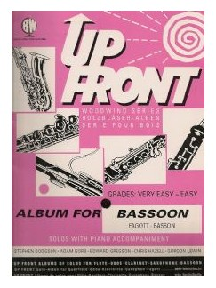 Up Front: Album For Bassoon Books | Bassoon, Piano Accompaniment