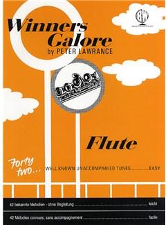Peter Lawrance: Winners Galore (Flute) Books | Flute