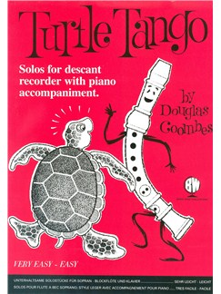 Douglas Coombes: Turtle Tango For Descant Recorder Books | Recorder, Piano Accompaniment